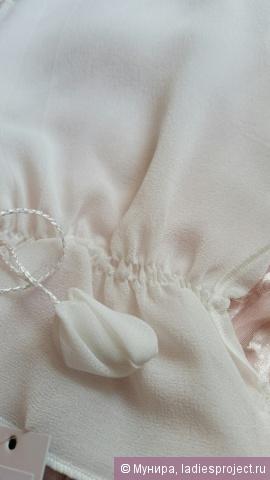 Рукавица для пилинга лица из крепового шелка (для чувствительной кожи) от Шелковая Мануфактура фото 7