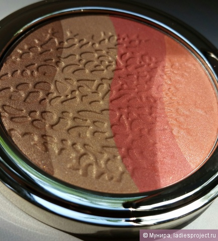 Иллюминатор для лица Coral island Golden Touch Highlighter от Pupa фото 10