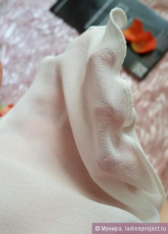 Рукавица для пилинга лица из крепового шелка (для чувствительной кожи) от Шелковая Мануфактура фото 9