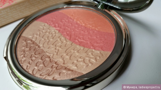 Иллюминатор для лица Coral island Golden Touch Highlighter от Pupa фото 7