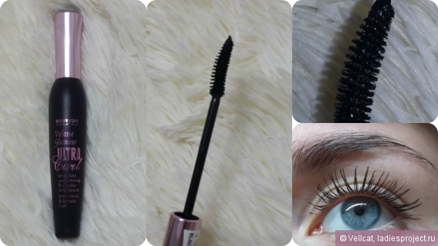 Тушь для ресниц Classic Volum express (Curved brush) от Maybelline фото 6