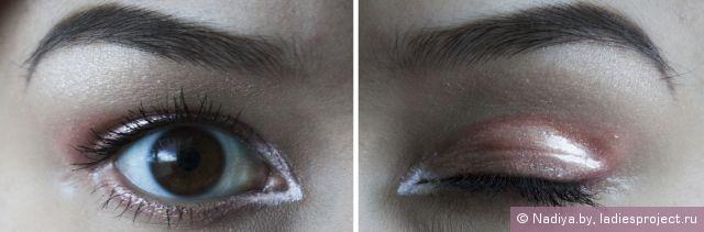Макияж с подиума - Эффект мокрых глаз фото 10