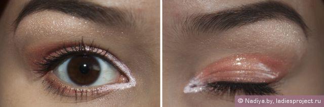 Макияж с подиума - Эффект мокрых глаз фото 11