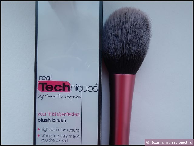 Кисть для румян Blush Brush от Real Techniques by Samantha Chapman фото 2