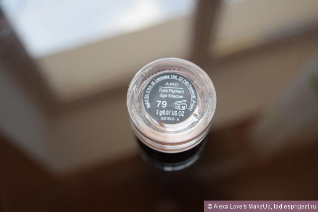 Пигмент для век AMC Pure pigment eye shadow (оттенок № 79) от Inglot фото 2