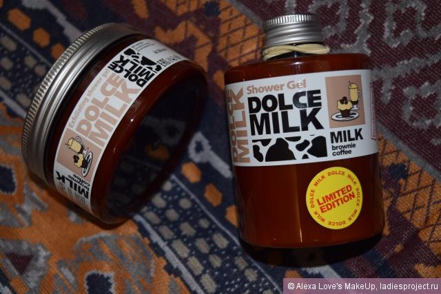 """Гель для душа """"Молоко и кофейный брауни со сливочным кремом"""" от Dolce Milk фото 2"""