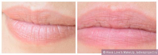 """Ухаживающий бальзам для губ """"Люкс. нежность шелка"""" (оттенок Восхитительный медовый) от Avon фото 1"""