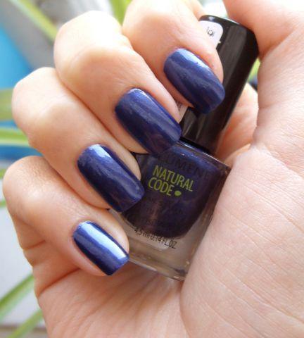 Лак для ногтей Natural Code (оттенок № 43 Blue star) от Lumene фото 4