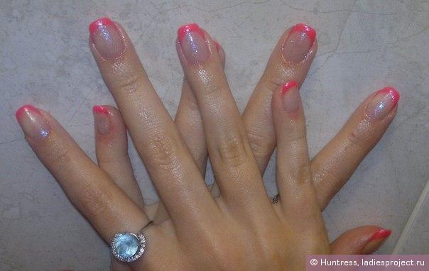 Покрыть ногти гель лаком