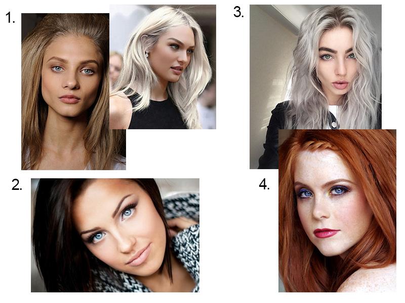 Цвет волос для смуглой кожи