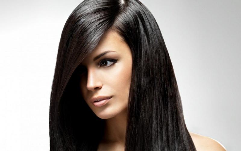 Оттенки черного цвета волос