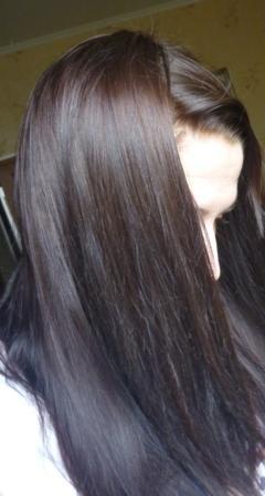 Интенсивное тонирование волос