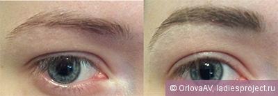 Карандаш для бровей Eye brow duo от Eva Mosaic фото 6
