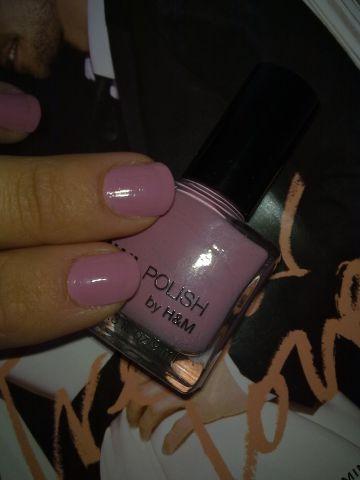 Лак для ногтей от H&M nail polish: Get a Rose 4 Me фото 3