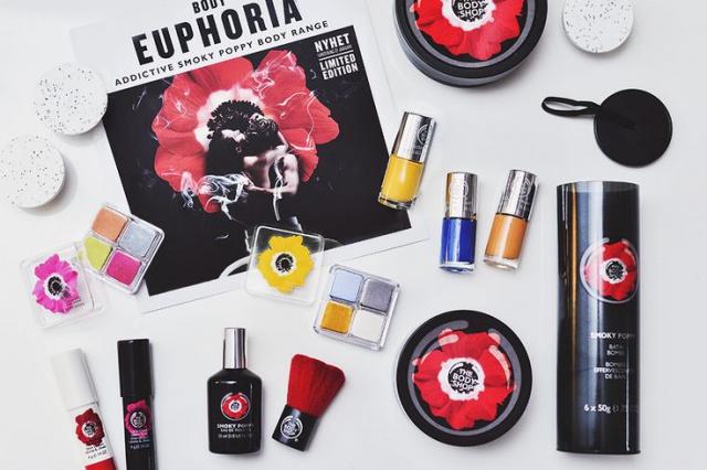 Маковое поле в весенней коллекции косметики 2015 от The Body Shop фото 24