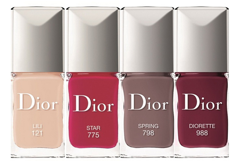 Лак для ногтей Vernis Couture Colour Gel Shine And Long Wear Nail Lacquer (оттенок № 775 Star) от Dior фото 1