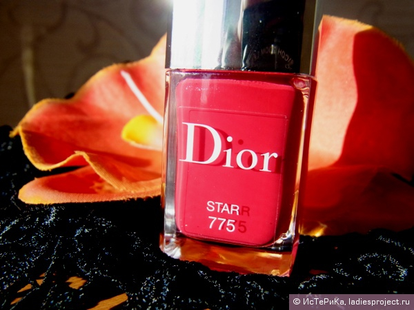 Лак для ногтей Vernis Couture Colour Gel Shine And Long Wear Nail Lacquer (оттенок № 775 Star) от Dior фото 2