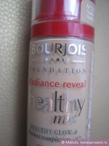 Тональный крем HEALTHY MIX (оттенок № 52 Vanille) от Bourjois фото 2