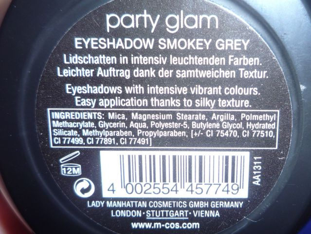 Тени для век Party Glam Eyeshadow от Manhattan фото 8