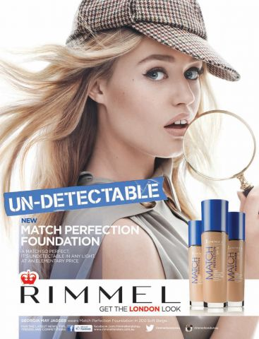 Тональный крем Match Perfection Light Perfecting Radiance foundation (оттенок № 100 Ivory) от Rimmel фото 1