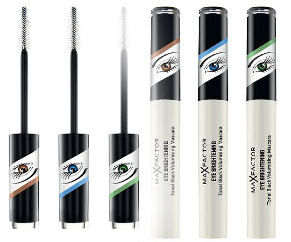 Новинка от Max Factor: Тушь для ресниц Eye Brightening Tonal Black Volumising Mascara фото 2