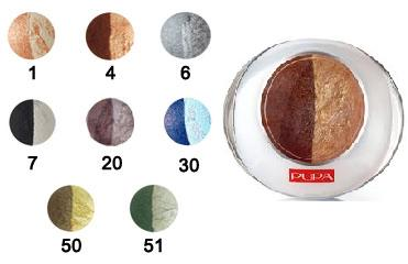 Тени для век Luminys duo Baked Eyeshadow от Pupa (1) фото 1