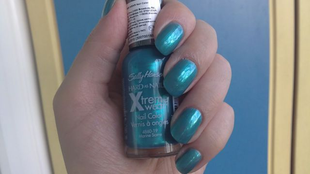 Лак для ногтей Hard as Nails Xtreme Wear (№ 19 Marine Scene) от Sally Hansen фото 1