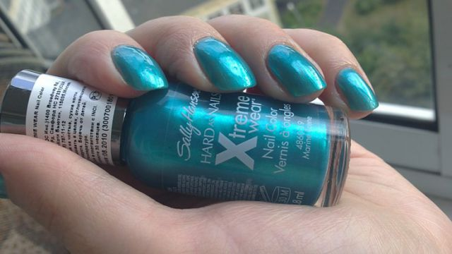 Лак для ногтей Hard as Nails Xtreme Wear (№ 19 Marine Scene) от Sally Hansen фото 2