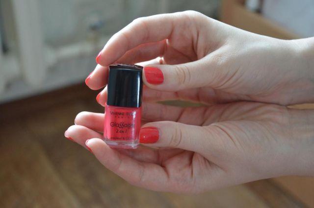 Лак для ногтей Glassage 2 в 1 (оттенок № 109) от Vivienne Sabo фото 6