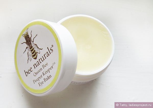 Бальзам для кожи вокруг глаз Queen Bee Peeper Keeper Eye Balm от Bee Naturals фото 1