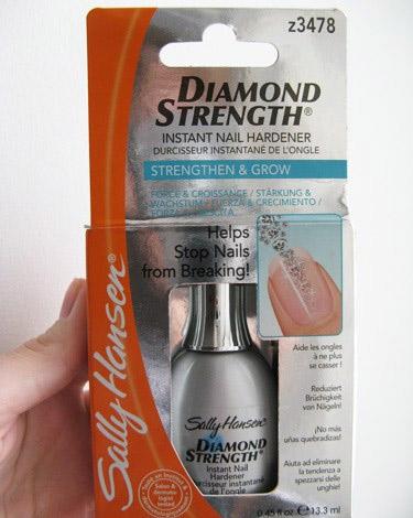 Алмазное укрепляющее средство для ногтей от Sally Hansen фото 1