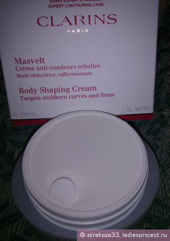 Крем для похудения masvelt clarins отзывы