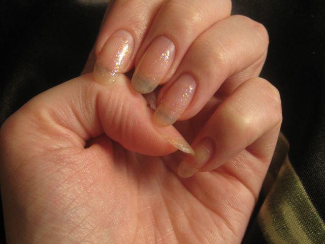 Отросшие ногти с шеллаком фото 179