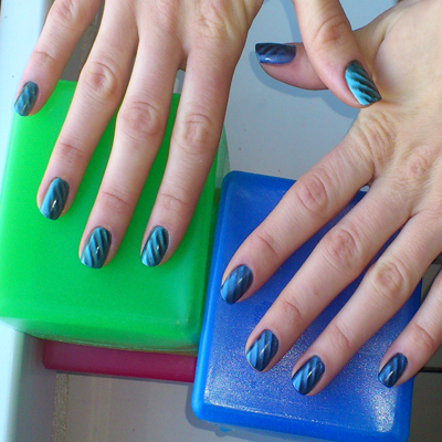 Магнитный лак Magnetic Nail Art Kit от Pupa фото 4