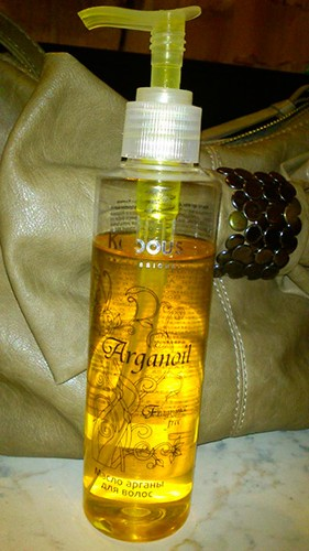 Аргановое масло капус для волос