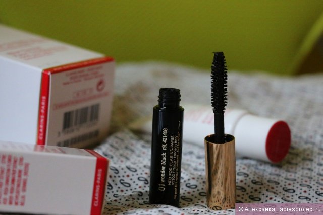 Тушь для ресниц Wonder Perfect Mascara от Clarins (1) фото 2