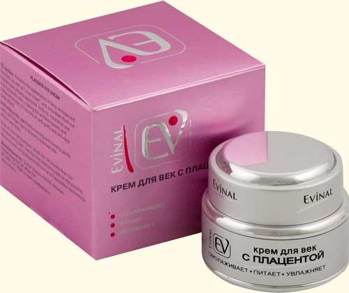 Крем для лица с плацентой от evinal - отзывы, фото и цена.