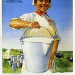 Образ женщины на советских плакатах