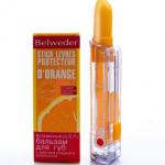 Витаминный (C/E/F) бальзам для губ с маслом сладкого апельсина от Belweder