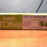 Интенсивный питательный крем с оливковым маслом для рук и тела от Dalan d`Olive