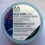 """Очищающая маска для лица """"Синяя кукуруза"""" от The Body Shop"""