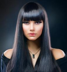 Всё о чёрном цвете волос