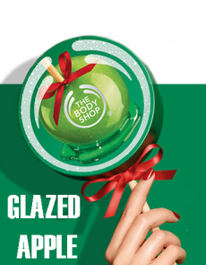 Рождественская коллекция 2014 Glazed Apple от The Body Shop