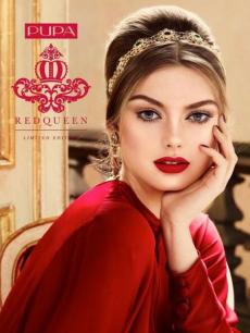 Рождественская коллекция макияжа Pupa Red Queen Collection Holiday Christmas 2016