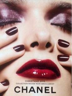 Рождественская коллекция макияжа Chanel Rouge Noir Holiday 2015 Collection