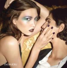 Коллекция косметики от бренда YSL осень 2010 - Rock & Baroque