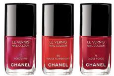 Коллекция лаков Chanel Les Rouges Culte Le Vernis Fall 2014