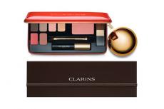 Лимитированный набор и рождественская палетка Clarins 2014-2015