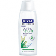 Очищающий тоник для лица для всех типов кожи Pure&Natural от Nivea