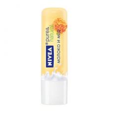 """Бальзам для губ """"Молоко и мед"""" от Nivea"""